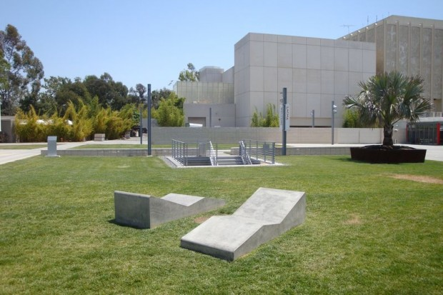 Decorative Precast Chaise Lounge - Los Angeles County Museum of Art