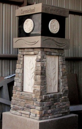 Precast Custom Entry Monument Sign - Carmichael, CA