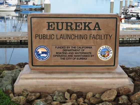DBW72S - Eureka Monument Sign - Eureka, CA