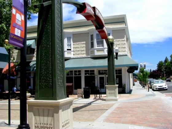 Custom Monument Base - Murphy Street - Sunnyvale, CA