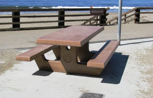 Precast Picnic Table
