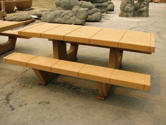 Custom Precast Picnic Table