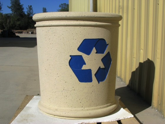 Precast Recycle Receptacle