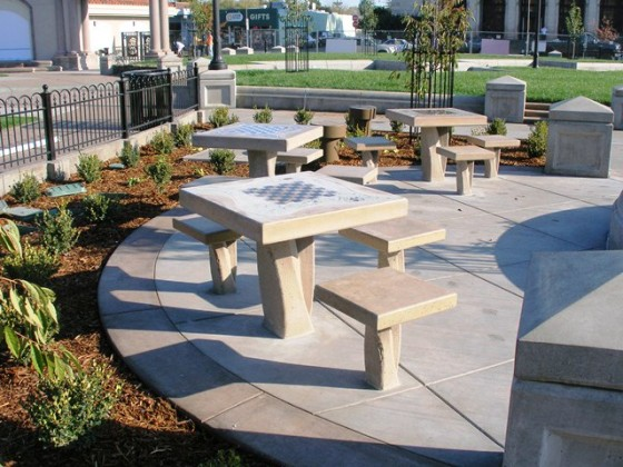 Game Tables – Chico City Plaza - Chico, CA