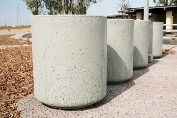Precast Receptacle - Philip S. Raine Rest Stop Area - Tipton, CA