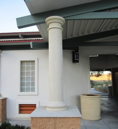 Precast Concrete Column & Cap
