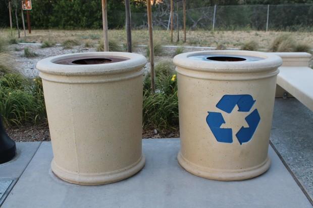 Precast Concrete Recycle & Receptacle
