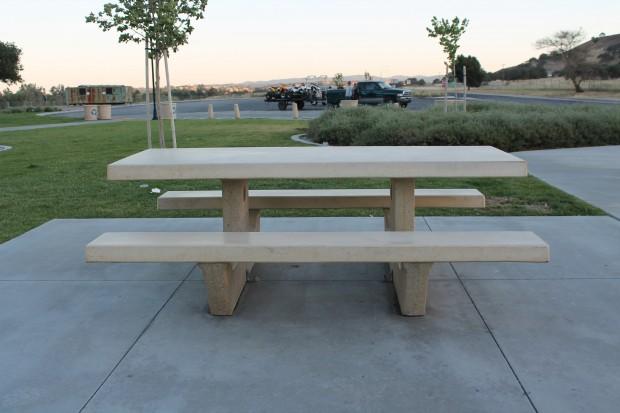 Precast Concrete Standard Picnic Table