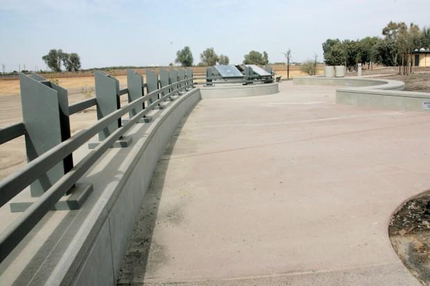 Overview of Philip Raine Rest Stop Area