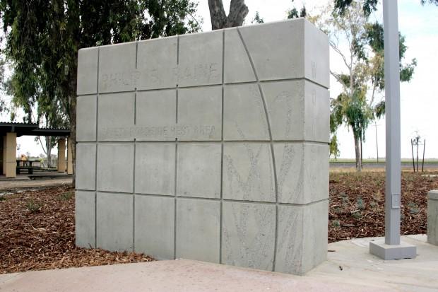 Custom Precast Monument Sign
