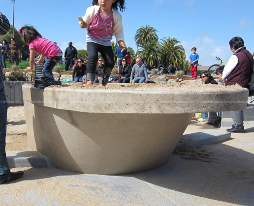 Custom Precast Sand Table