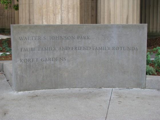 Precast Radius Monument Sign