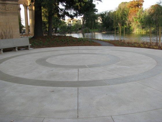 Polymer Concrete Recognition Pavers